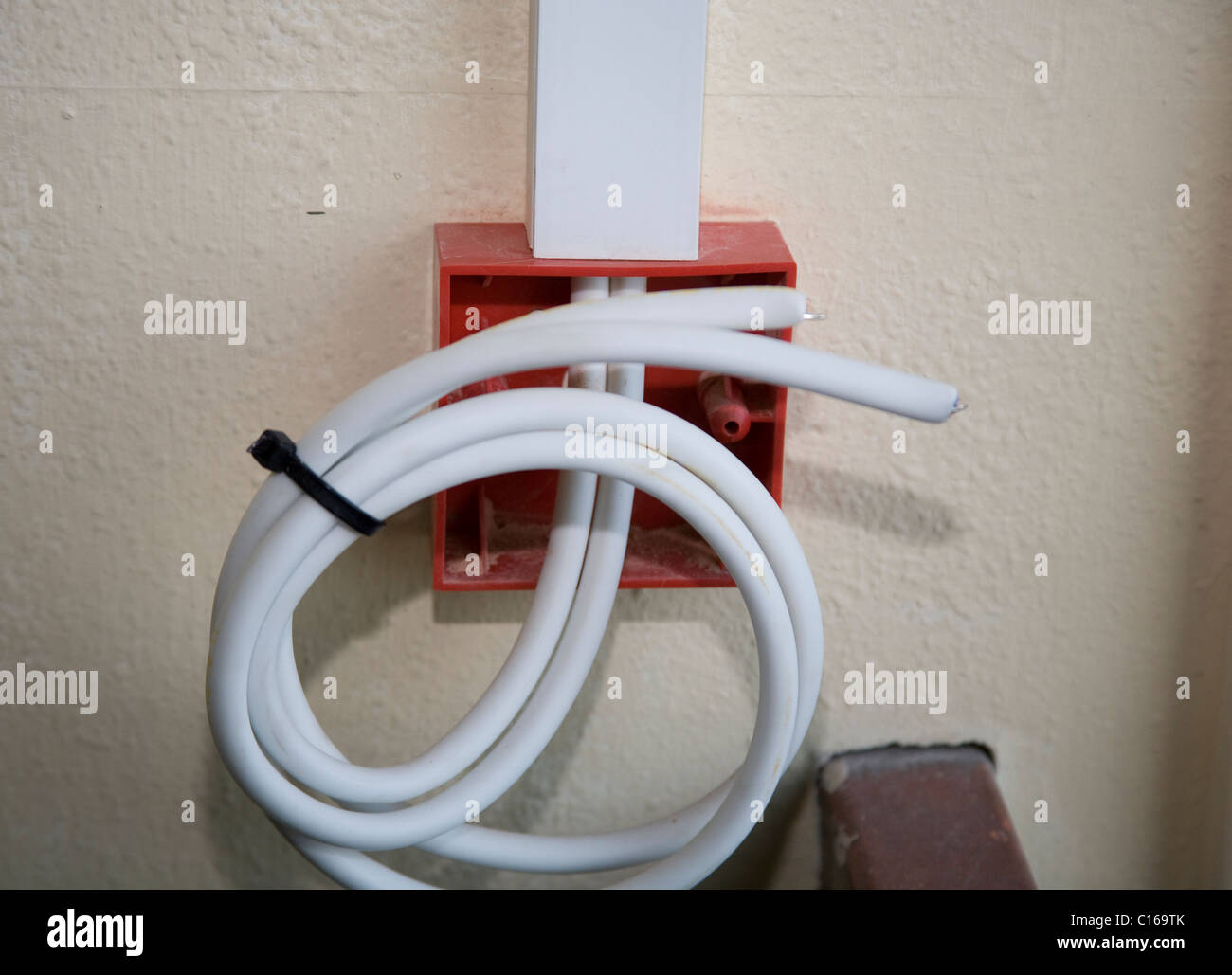 Fitting Of Domestic And Commercial Electrical Fire Equipment Stock Wiring Installation Units Devices Safety Systems