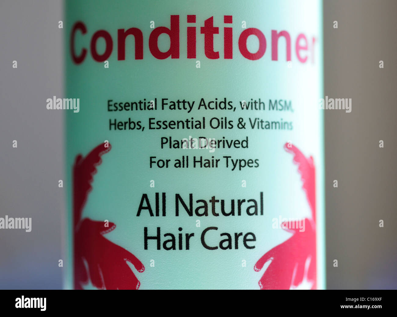All-natural conditioner Stock Photo