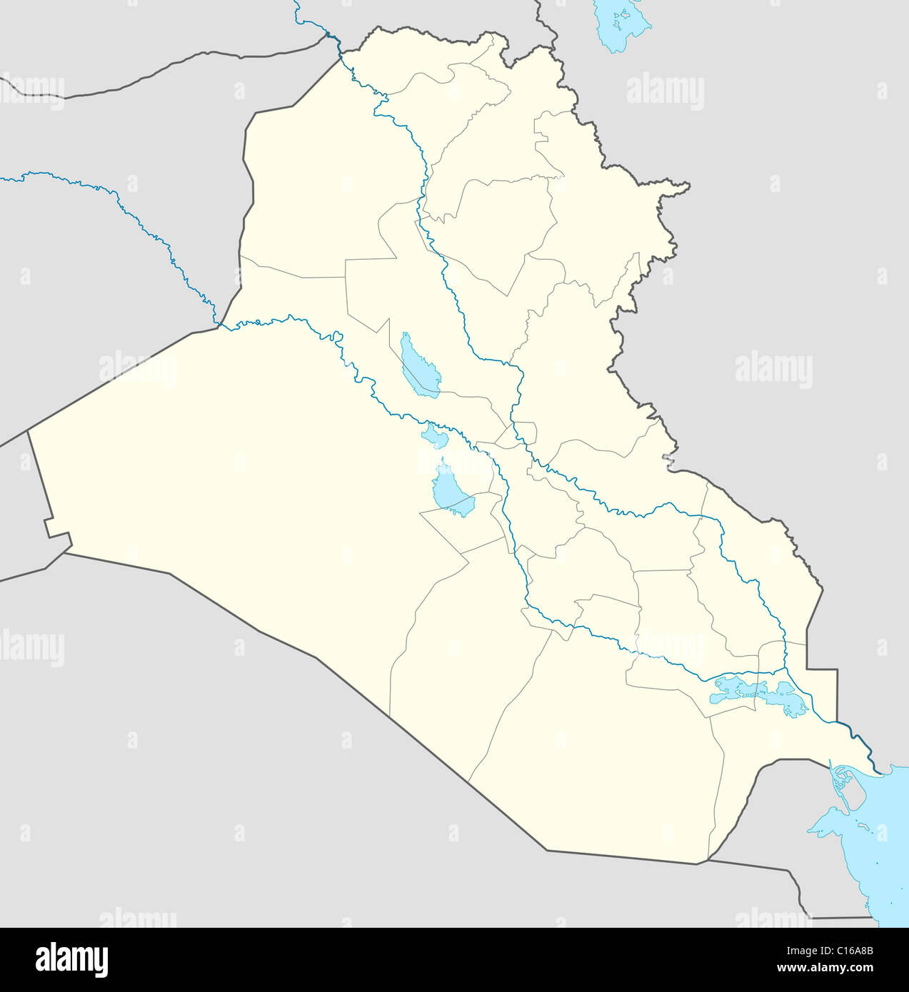 Iraq Map Stock Photos & Iraq Map Stock Images - Alamy