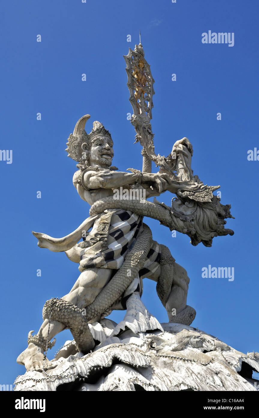 Balinese cult figure, Bali, Indonesia - Stock Image