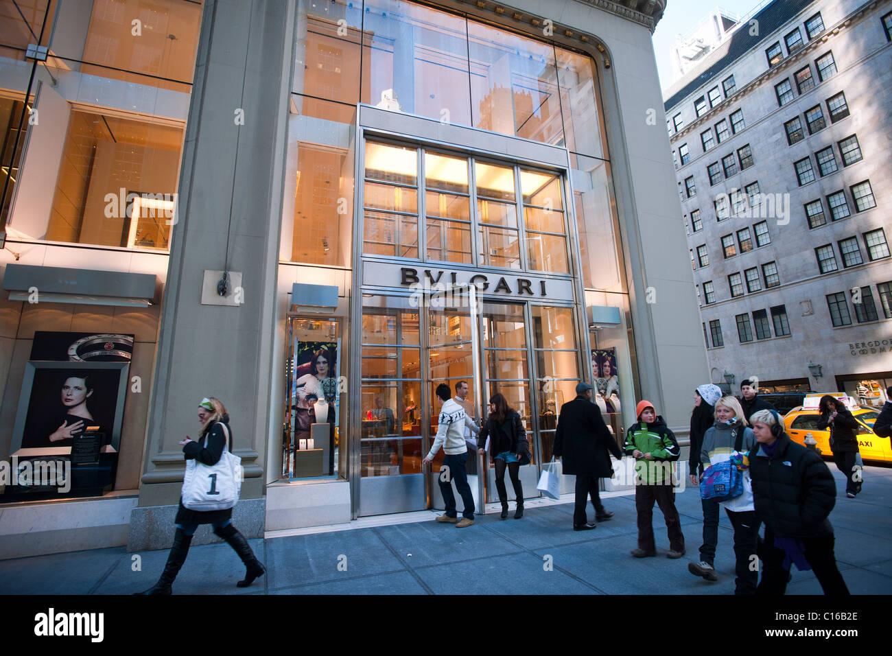 Bulgari Retail High Resolution Stock Photography and ...