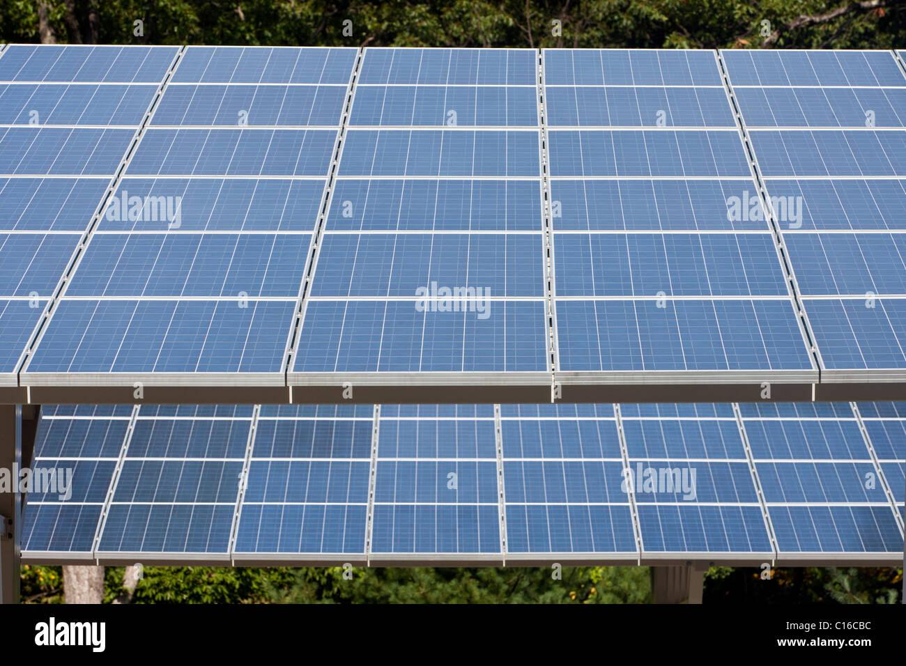 Solar Energy Panels - Stock Image