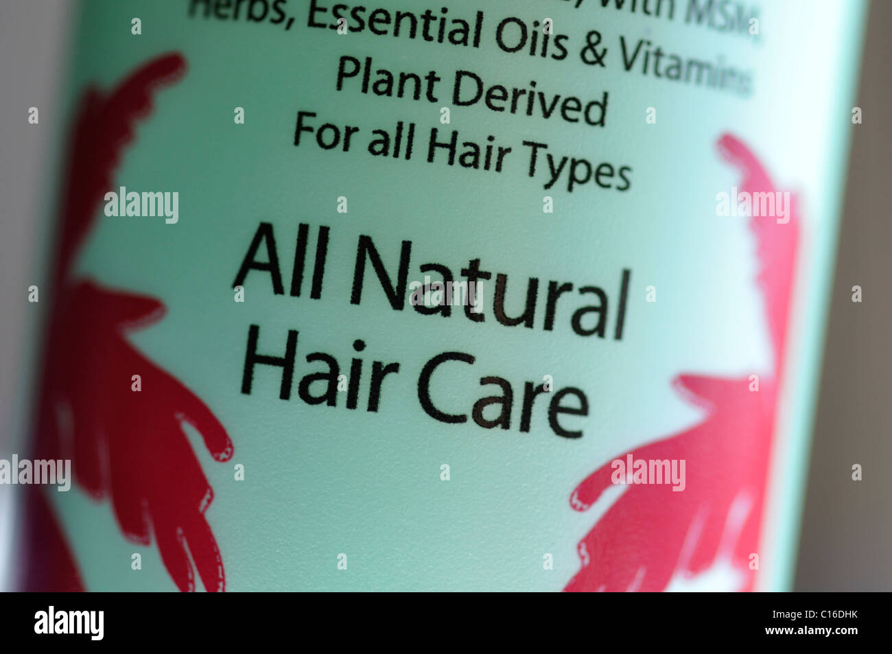 All-natural hair conditioner Stock Photo