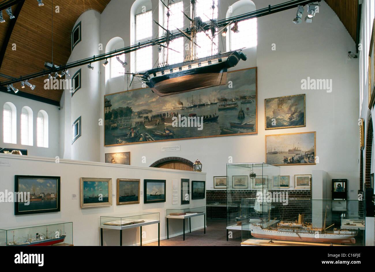 Schifffahrtsmuseum or Maritime Museum in Kiel, Schleswig-Holstein, Germany, Europe Stock Photo