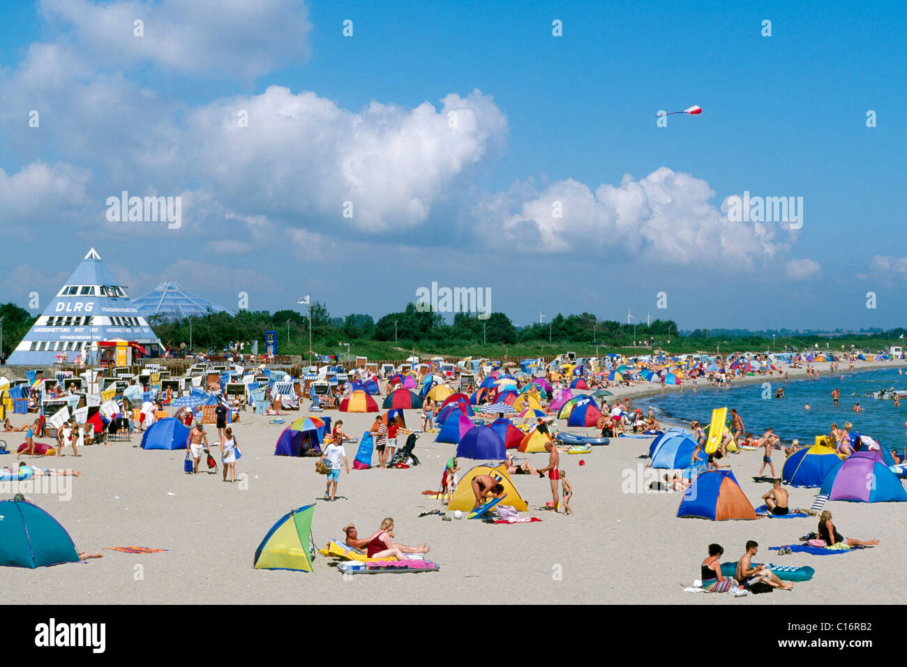 Baltic Sea resort Damp, Schleswig-Holstein, Germany, Europe - Stock Image