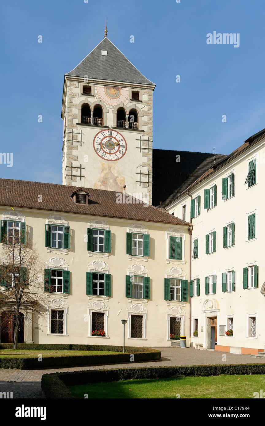Convent of the Canons Regular, Neustift near Brixen, Bressanone, Alto Adige, Italy, Europe - Stock Image