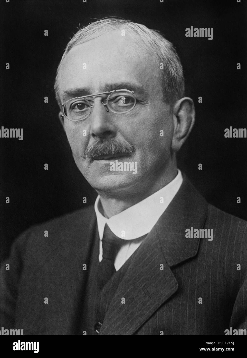 English physiologist Sir Charles Scott Sherrington (1857 - 1952) - co-winner of the Nobel Prize in Physiology or - Stock Image