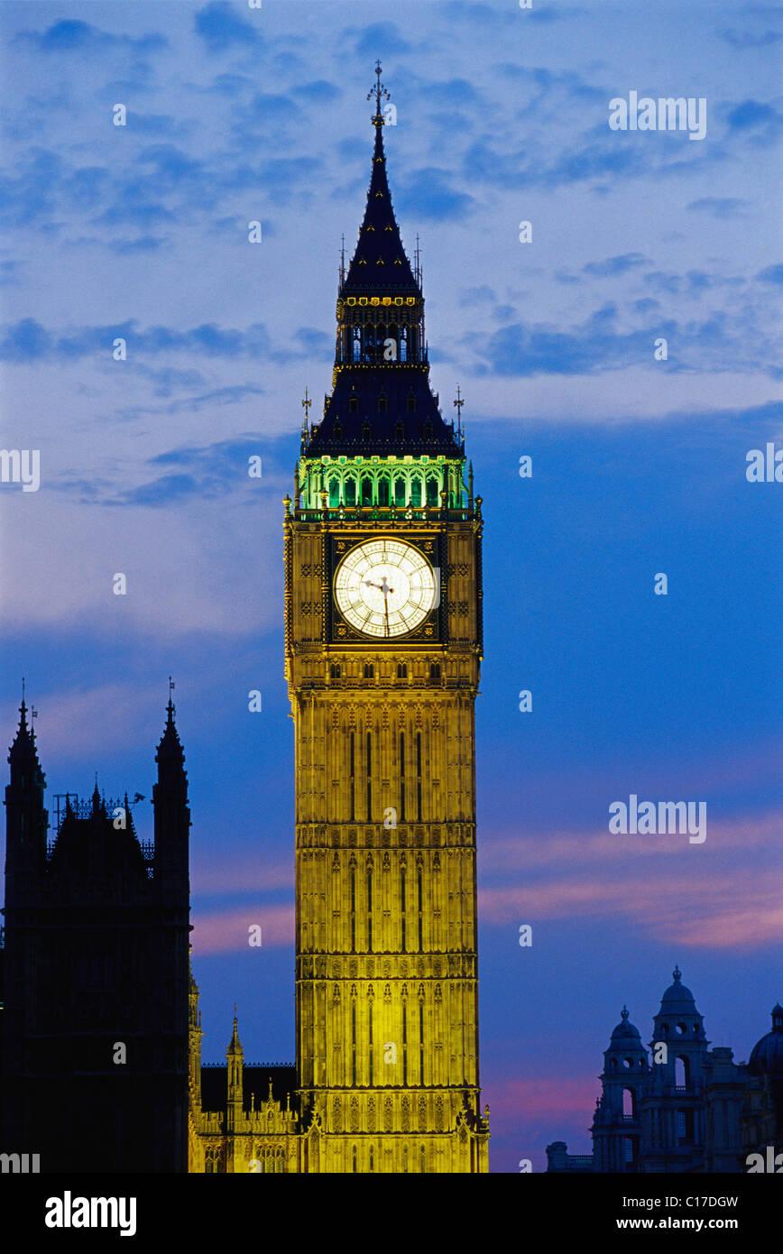 NPM-64535 : Big Ben ; London ; UK United Kingdom England ; Europe - Stock Image
