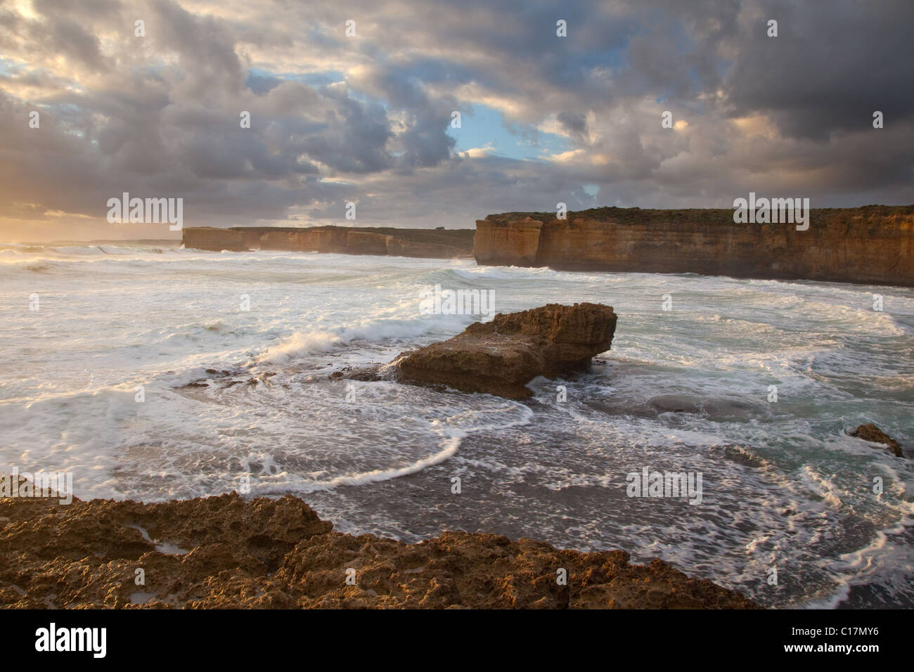 Loch Ard Gorge area, Port Campbell National Park, along the Great Ocean Road, Victoria, Australia Stock Photo