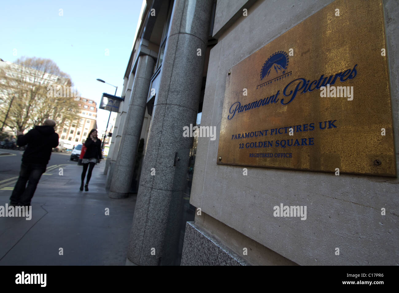 Paramount pictures offices London - Stock Image