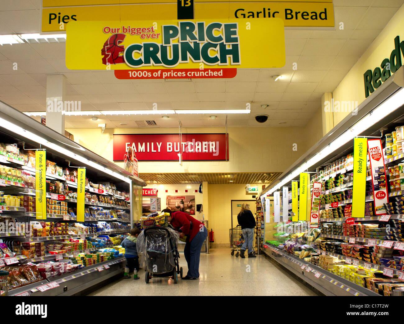 Morrisons Food Shopping