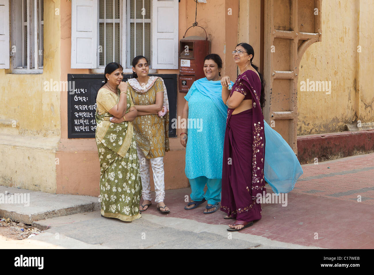Women in Kochi, Kerala, India - Stock Image