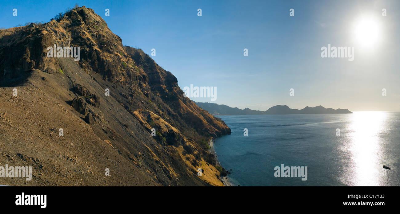 Coastline, Sangean, Lesser Sunda Islands, Indonesia, South East Asia - Stock Image