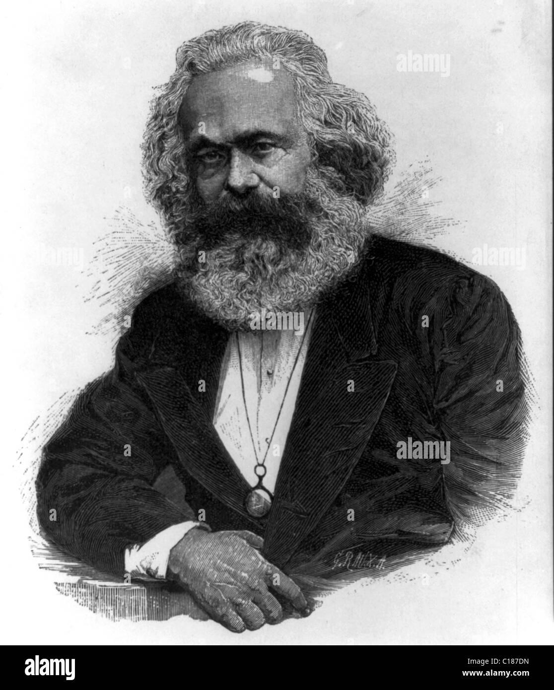 Karl Marx - Stock Image