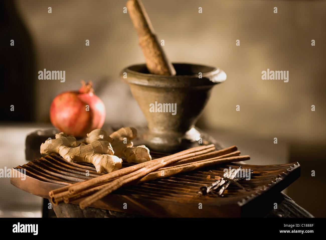 Wellness accessories - Stock Image
