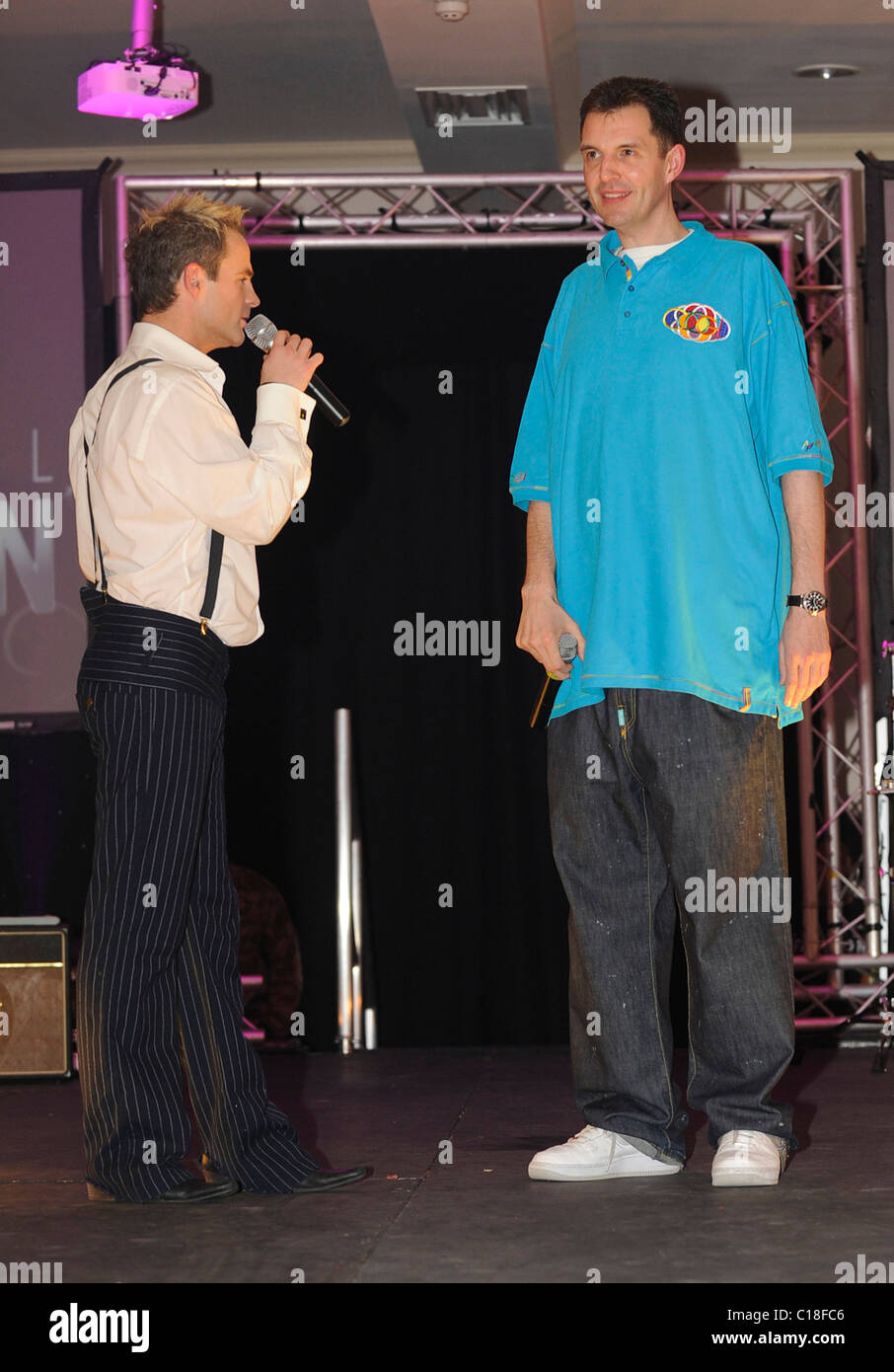 julian bennett and tim westwood liverpool fashion week at the adelphi hotel day 3 liverpool england 110309 lukemills