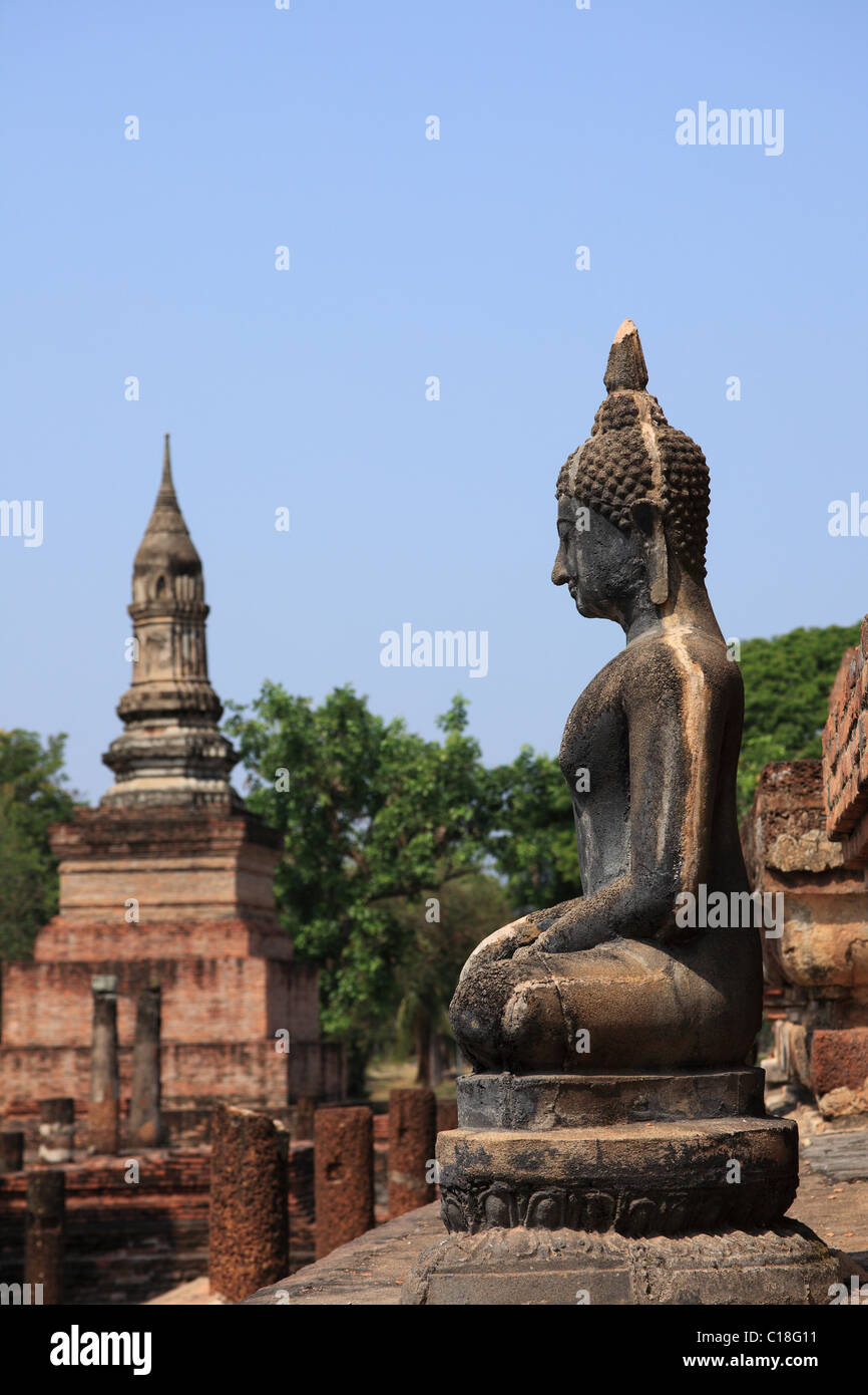Sukhothai, historical site in Thailand Stock Photo