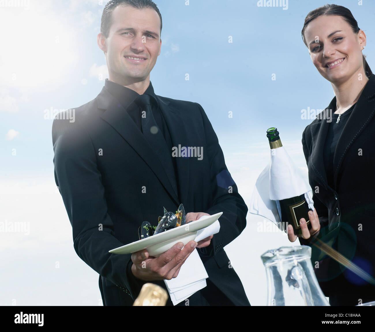 Hospitality - Stock Image