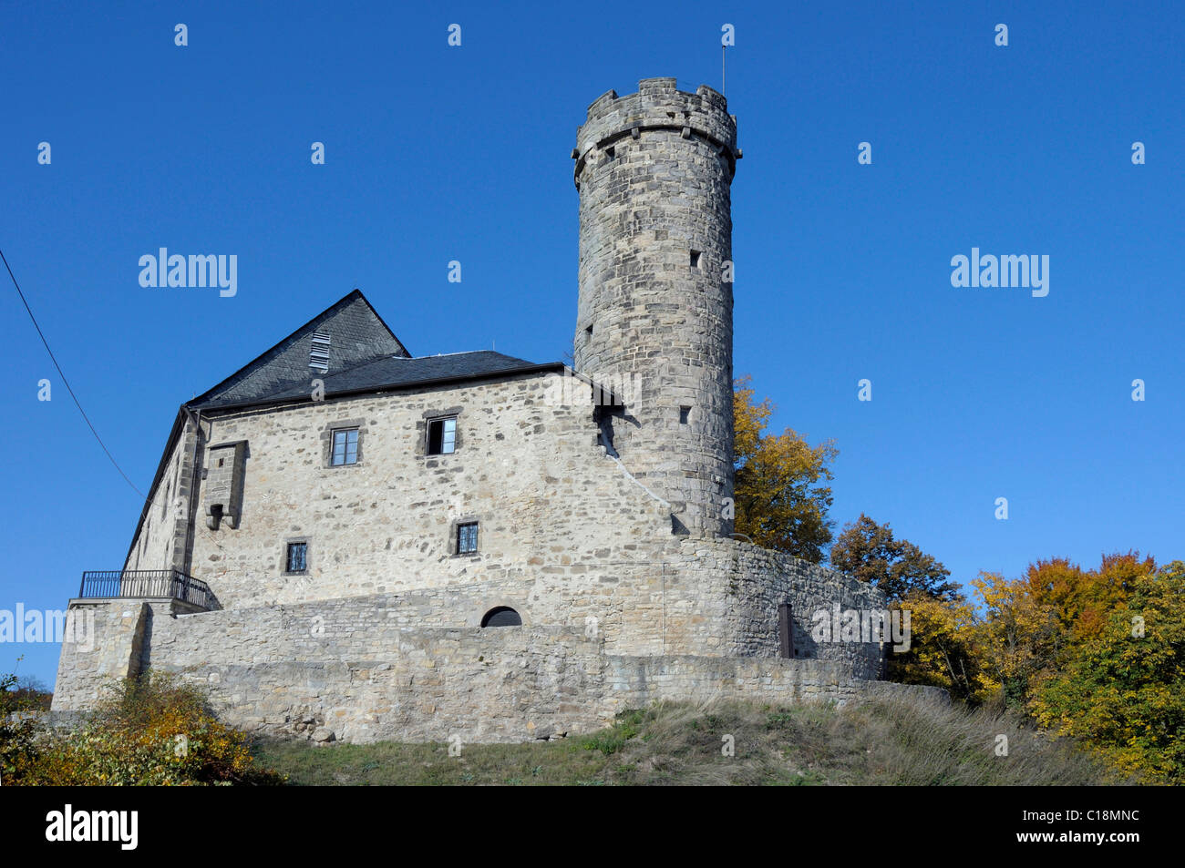 Burg greifenstein castle bad blankenburg thuringia for Burg greifenstein bad blankenburg