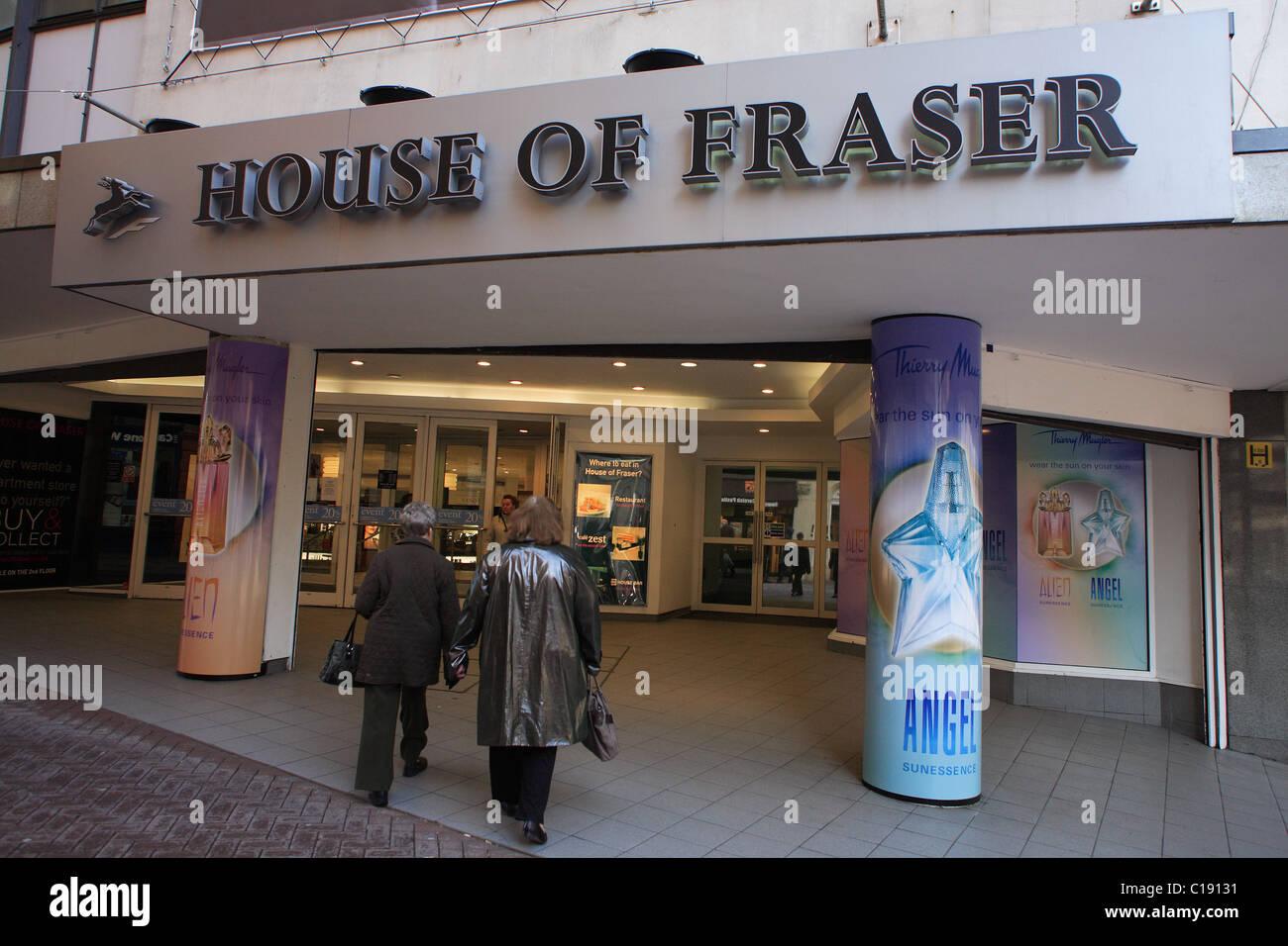 House of Fraser Department Store, Birmingham, England, UK - Stock Image