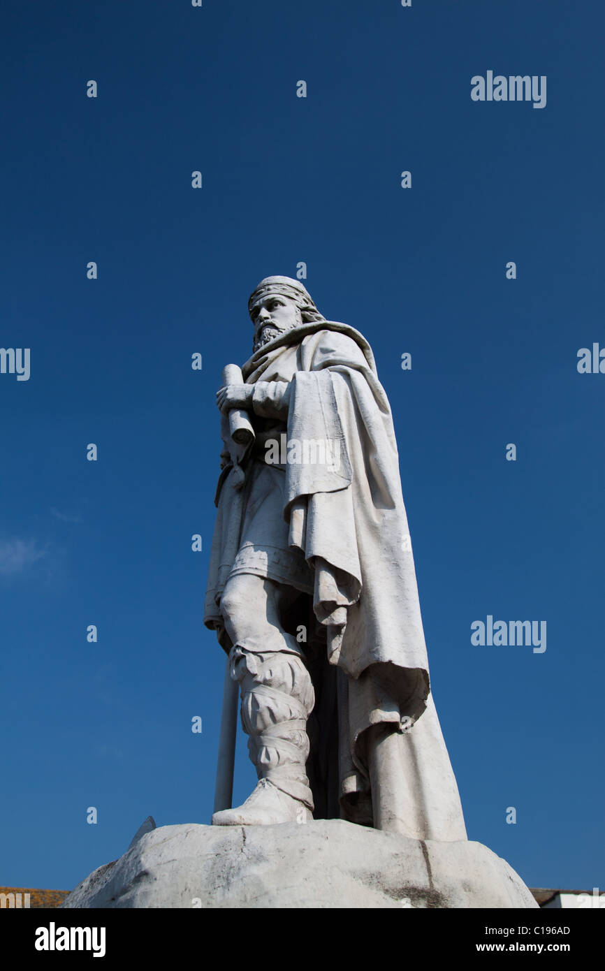 King Alfred Statue Wantage, Oxfordshire, England - Stock Image