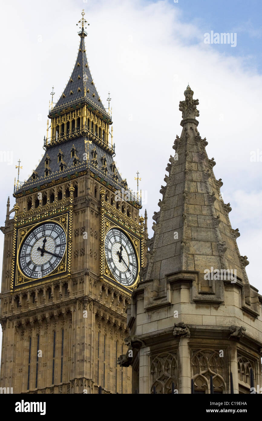 Abstract view of Big Ben Stock Photo