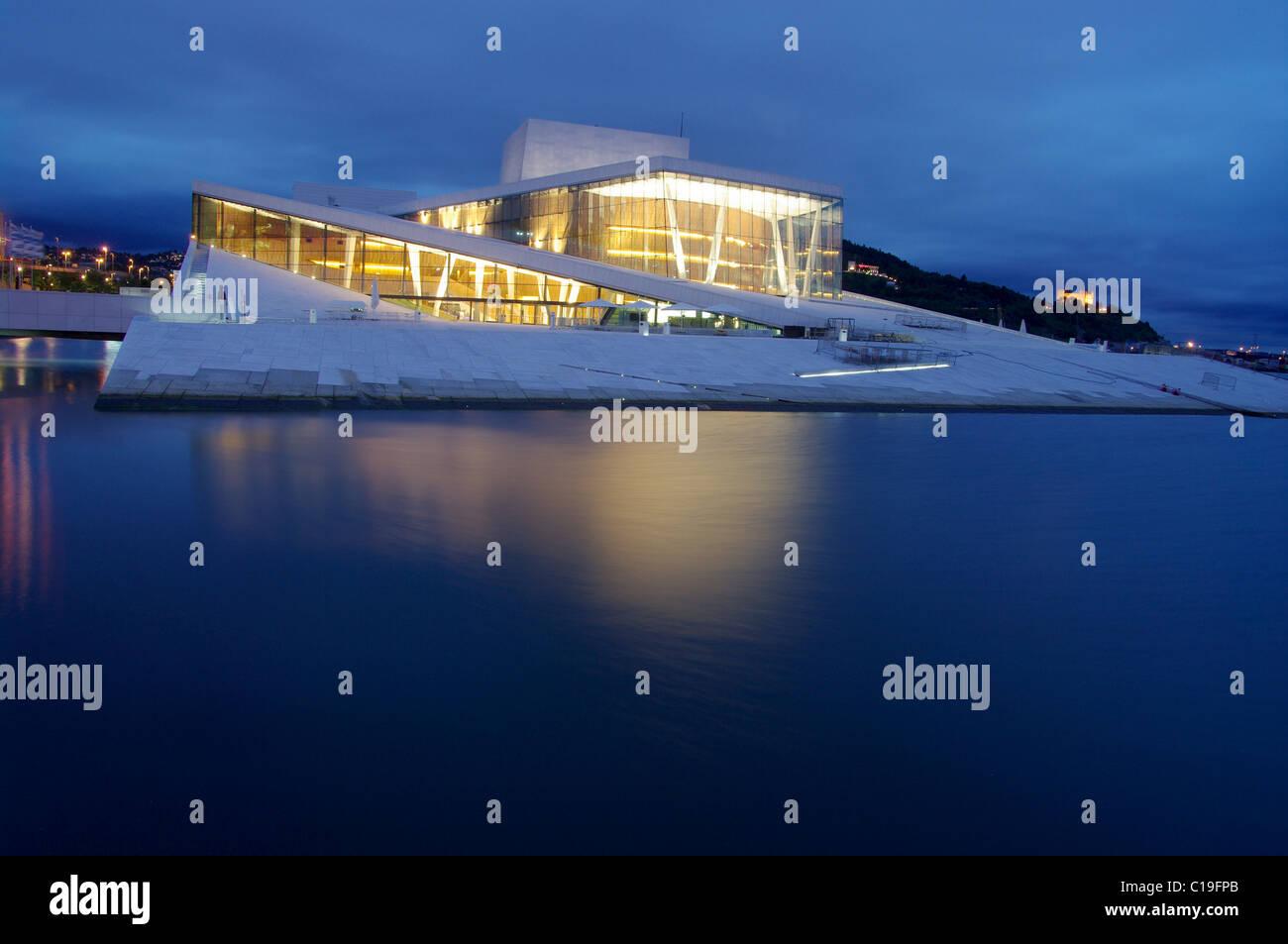 Oslo Opera House (Operahuset). Oslo, Norway - Stock Image