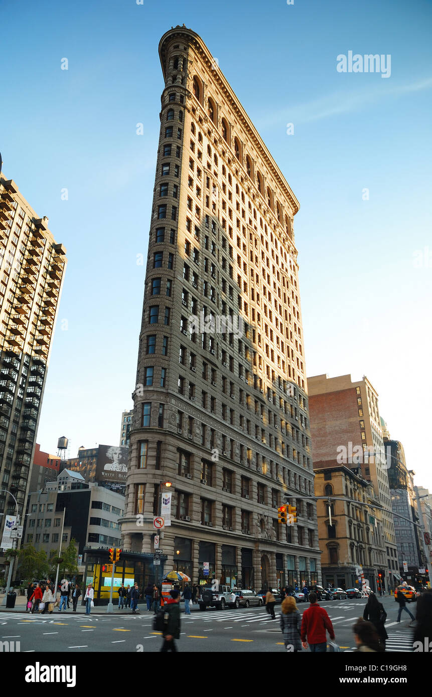 Flat iron building considered to be one of the first skyscrapers stock photo 35245988 alamy - Tourist office new york city ...