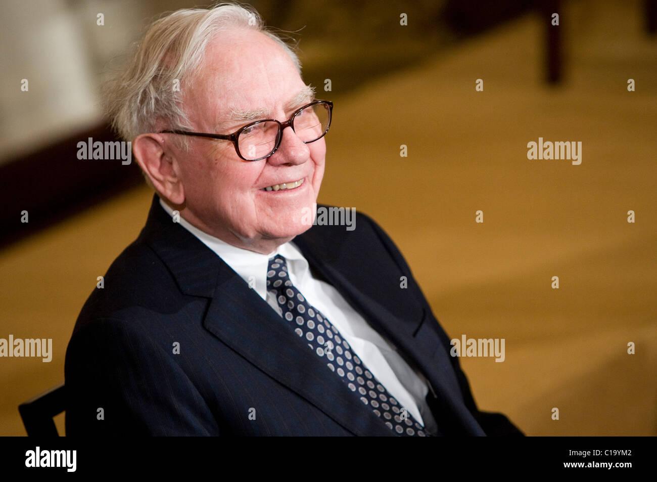 Businessman Warren Buffett. Stock Photo