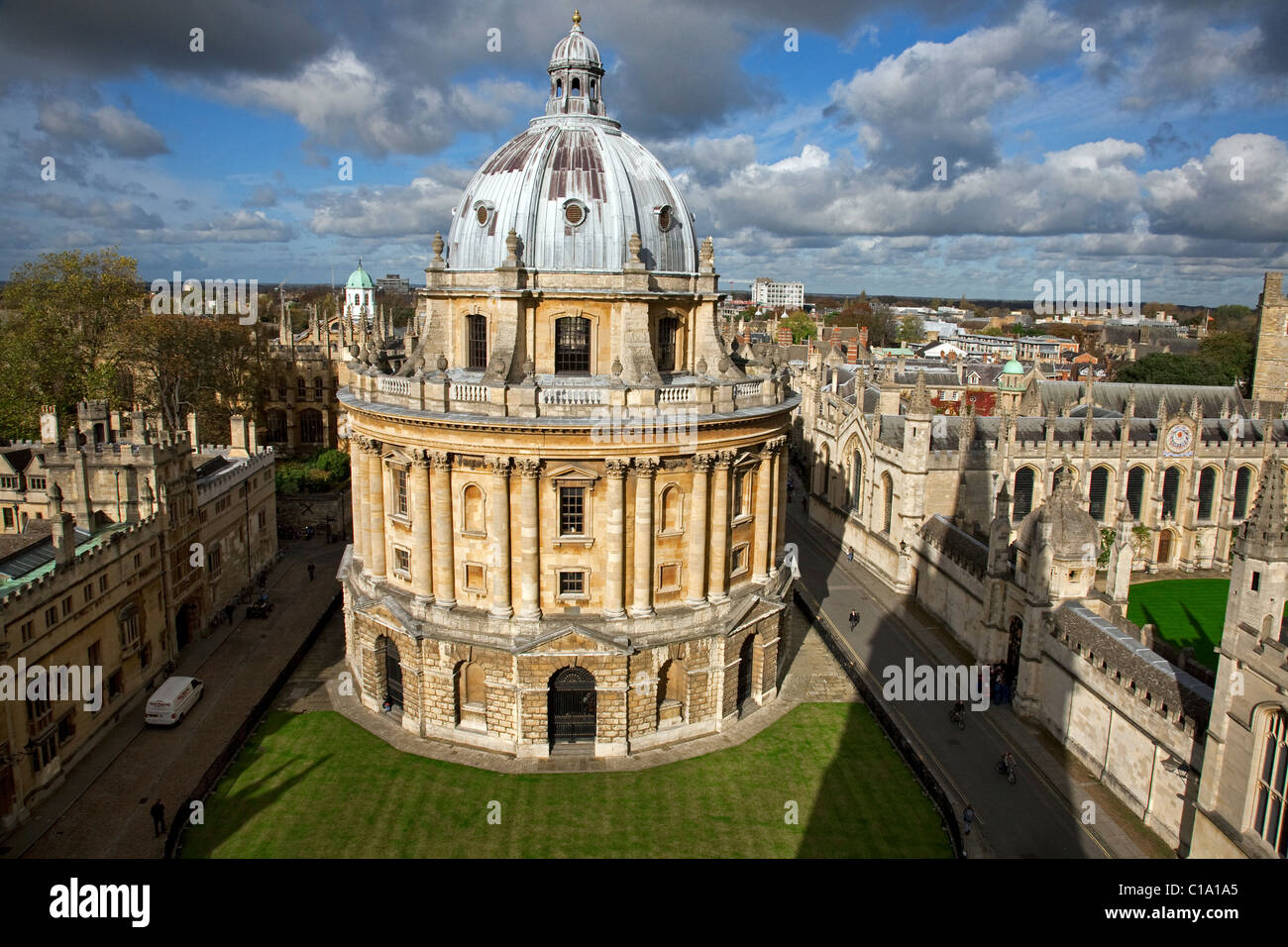 Radcliffe Camera at Oxford, Oxfordshire, England, UK - Stock Image