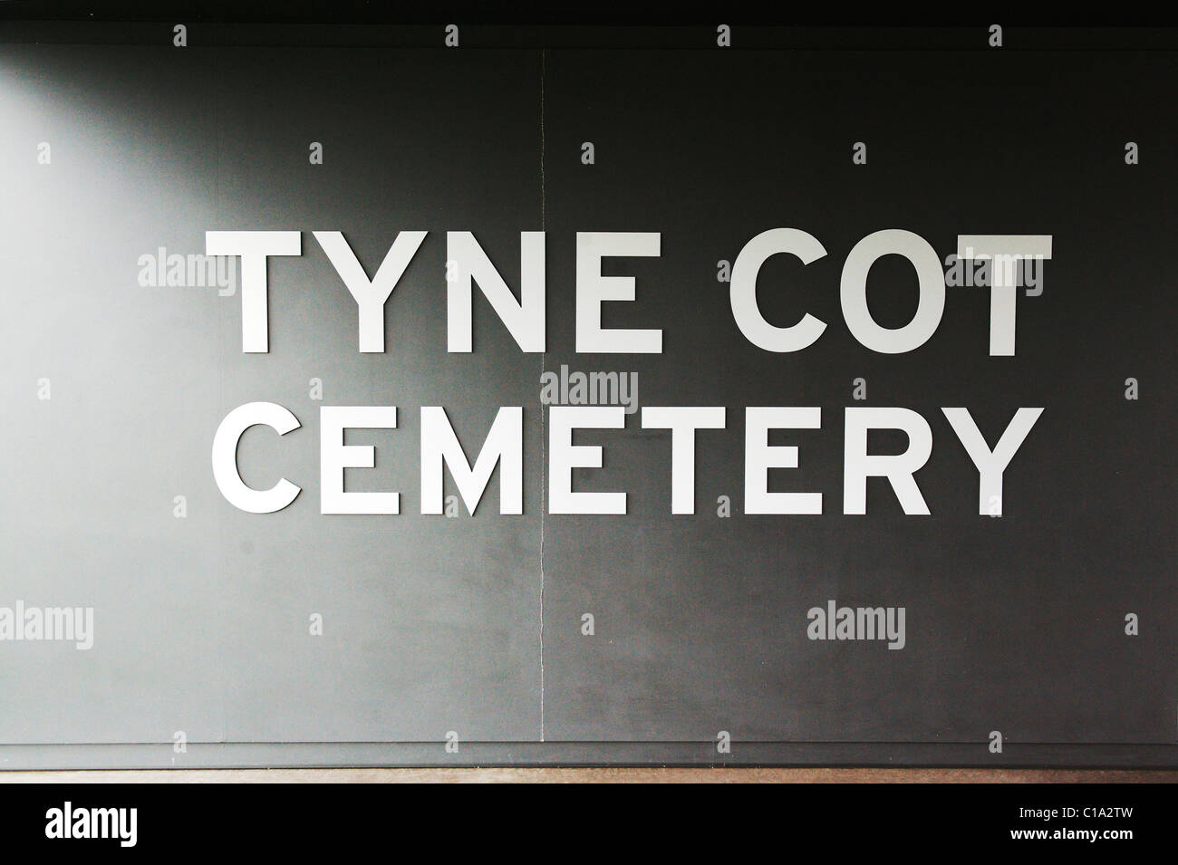 Tyne Cot Commonwealth War Graves Cemetery and Memorial to the Missing - Stock Image
