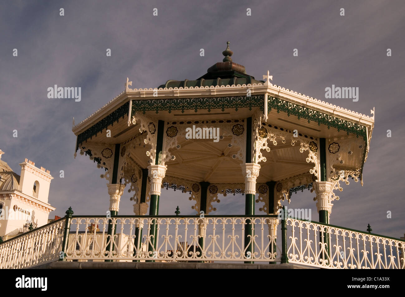 The Bandstand at Brighton Seafront Brighton Sussex England UK - Stock Image