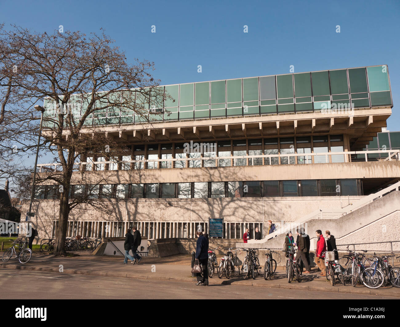 Denys Wilkinson Building Physics building Oxford Univiersity UK - Stock Image