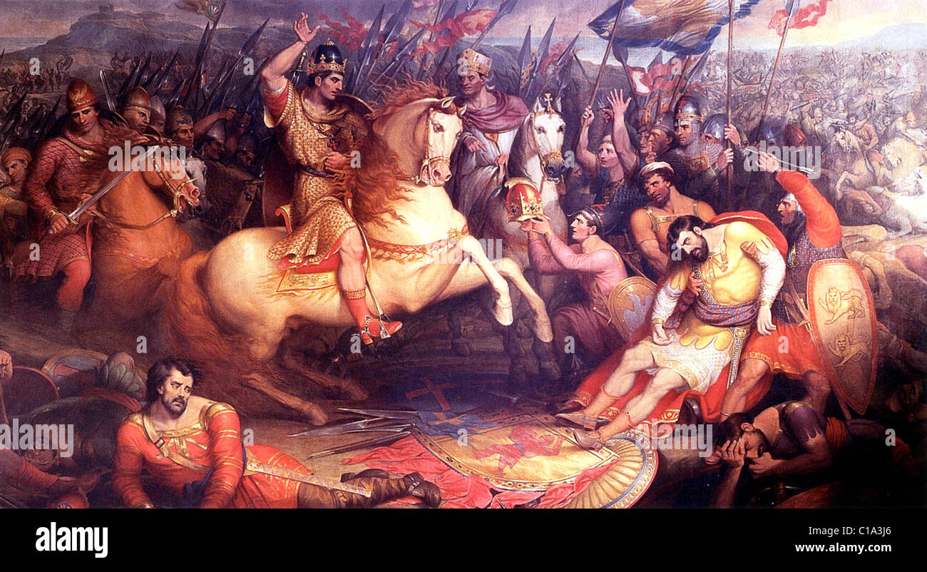 Battle of Hastings - Stock Image