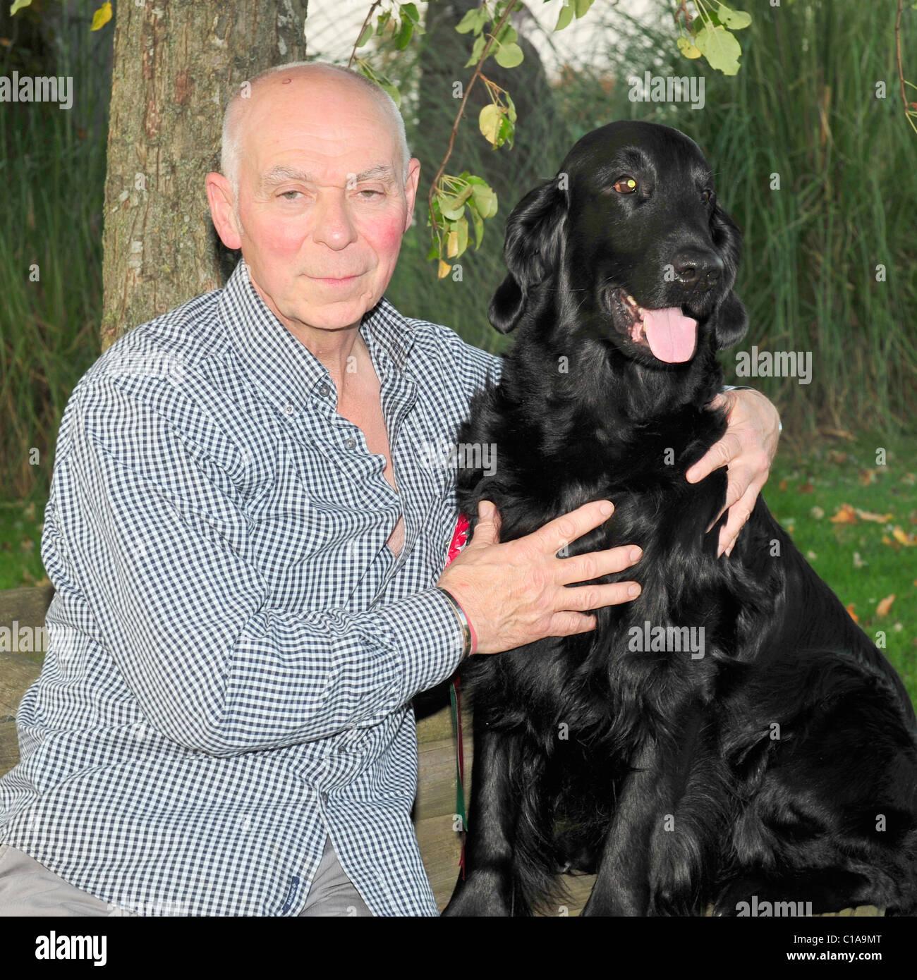 crufts winner Jim Irving and vbos the kentuckian - Stock Image