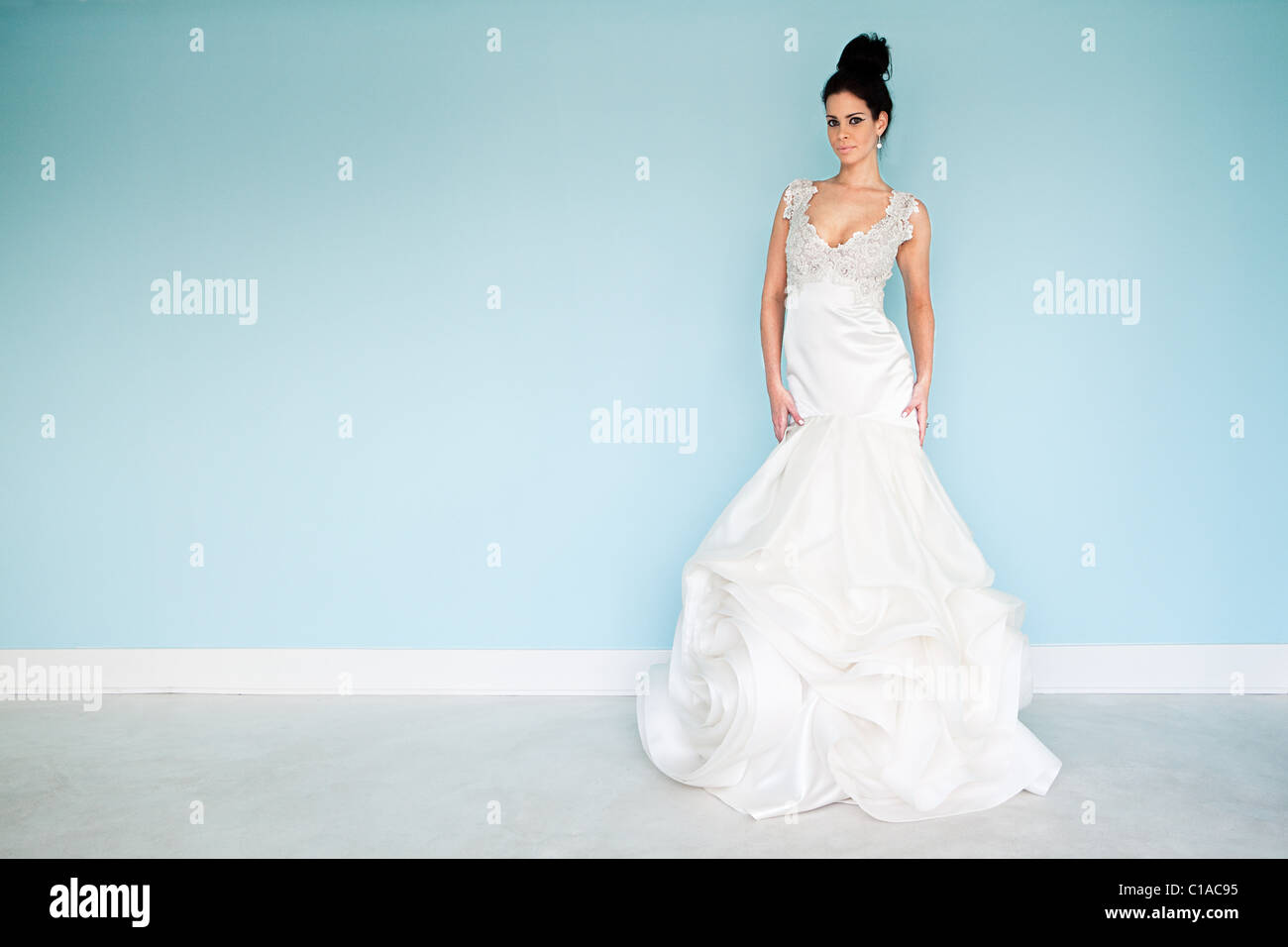 Pretty Hispanic Woman Black Dress Stock Photos & Pretty Hispanic ...