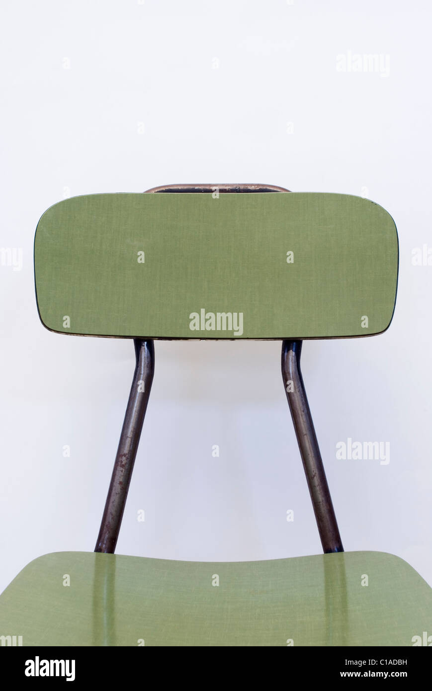 vintage laminated chair - Stock Image