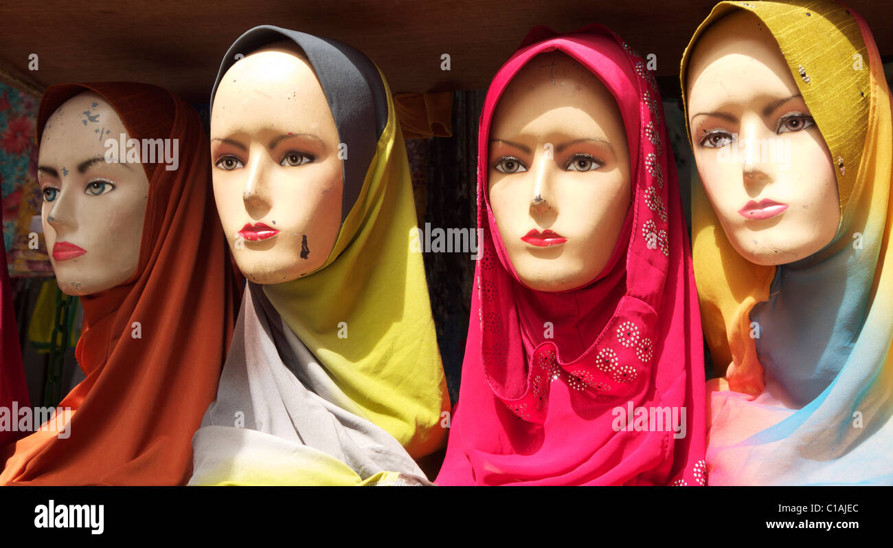 Four Models - Stock Image