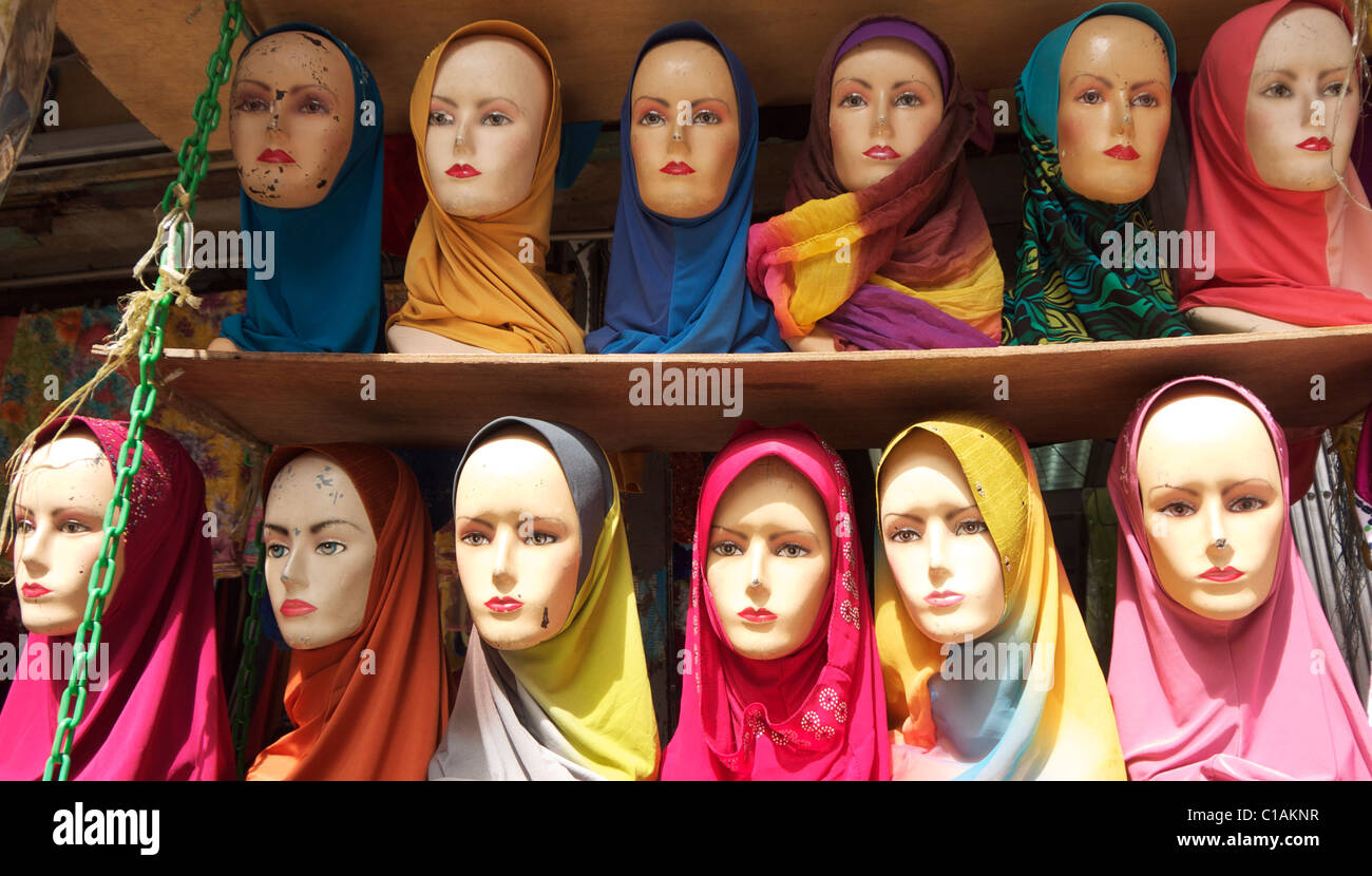 Models heads - Stock Image