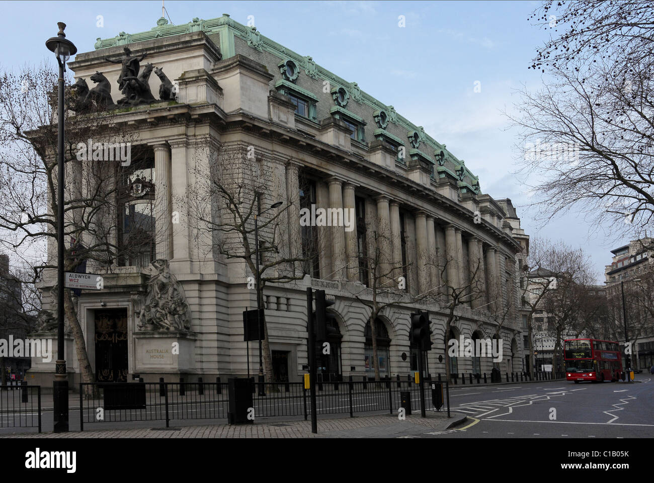 easterly aspect of australia house in the strand london C1B05K - 37+ Australia House London Pictures  Pictures