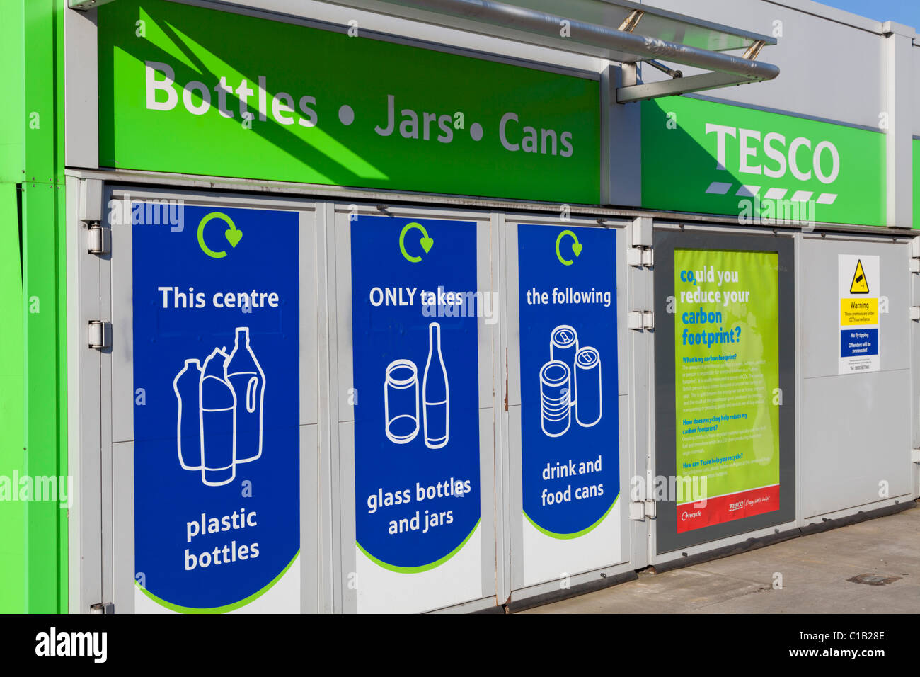 Tesco Recycling Stock Photos Amp Tesco Recycling Stock