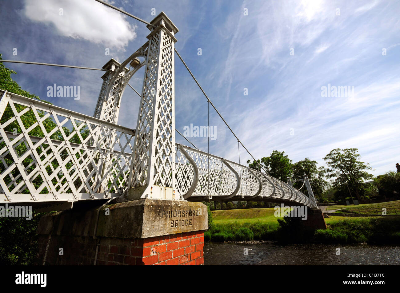 Priorsford Bridge Peebles, Scottish Borders - Stock Image