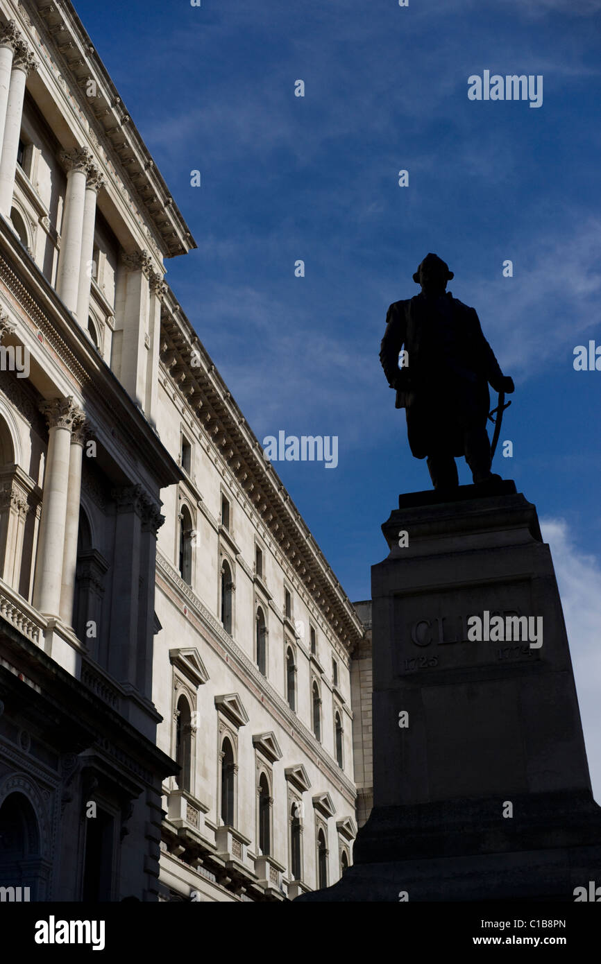 Statue of Clive of India - Stock Image