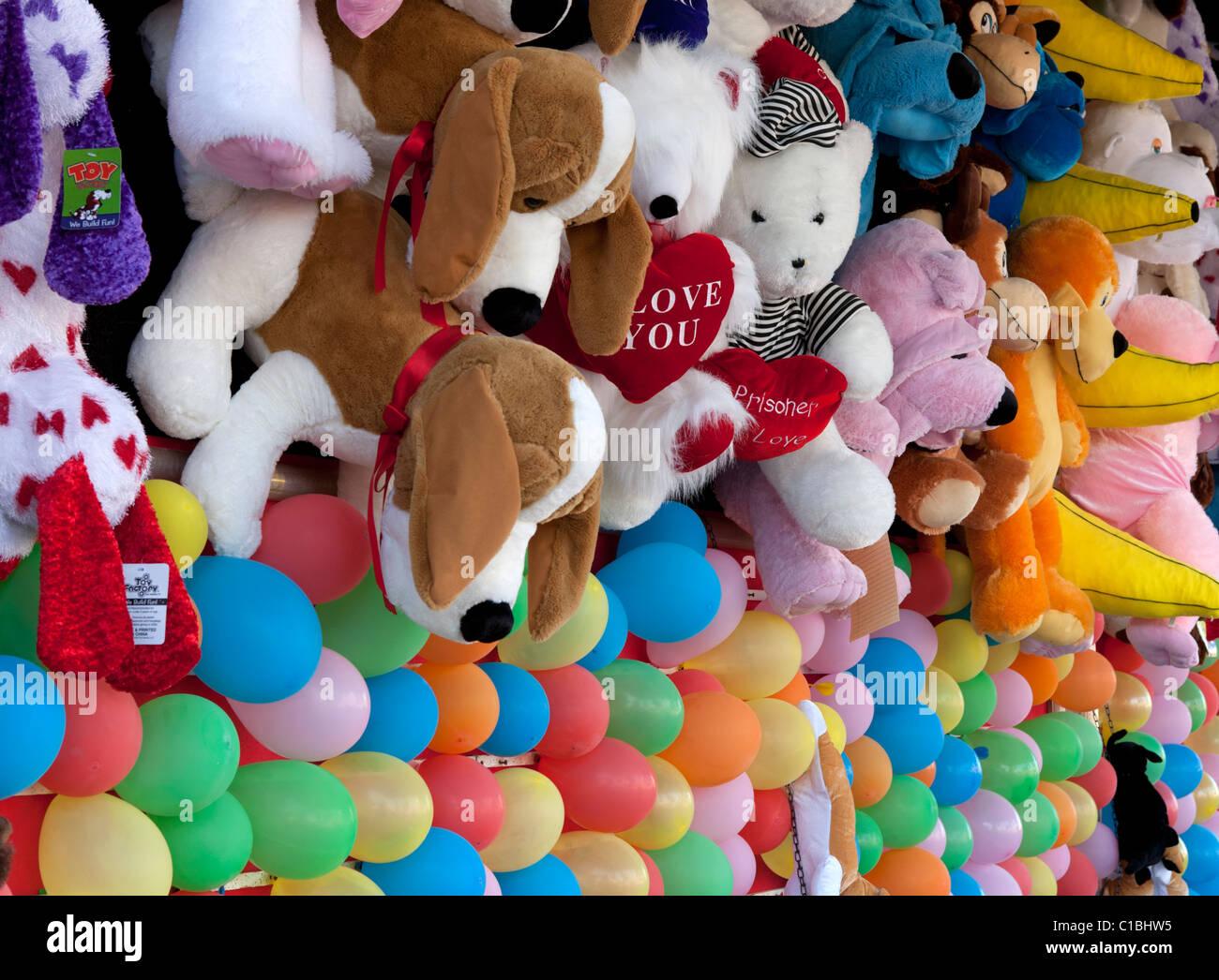 Fair prizes stuffed animals