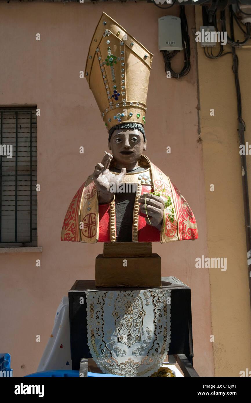 San Fermin statue Palma de Mallorca Majorca Balearic Spain Stock Photo