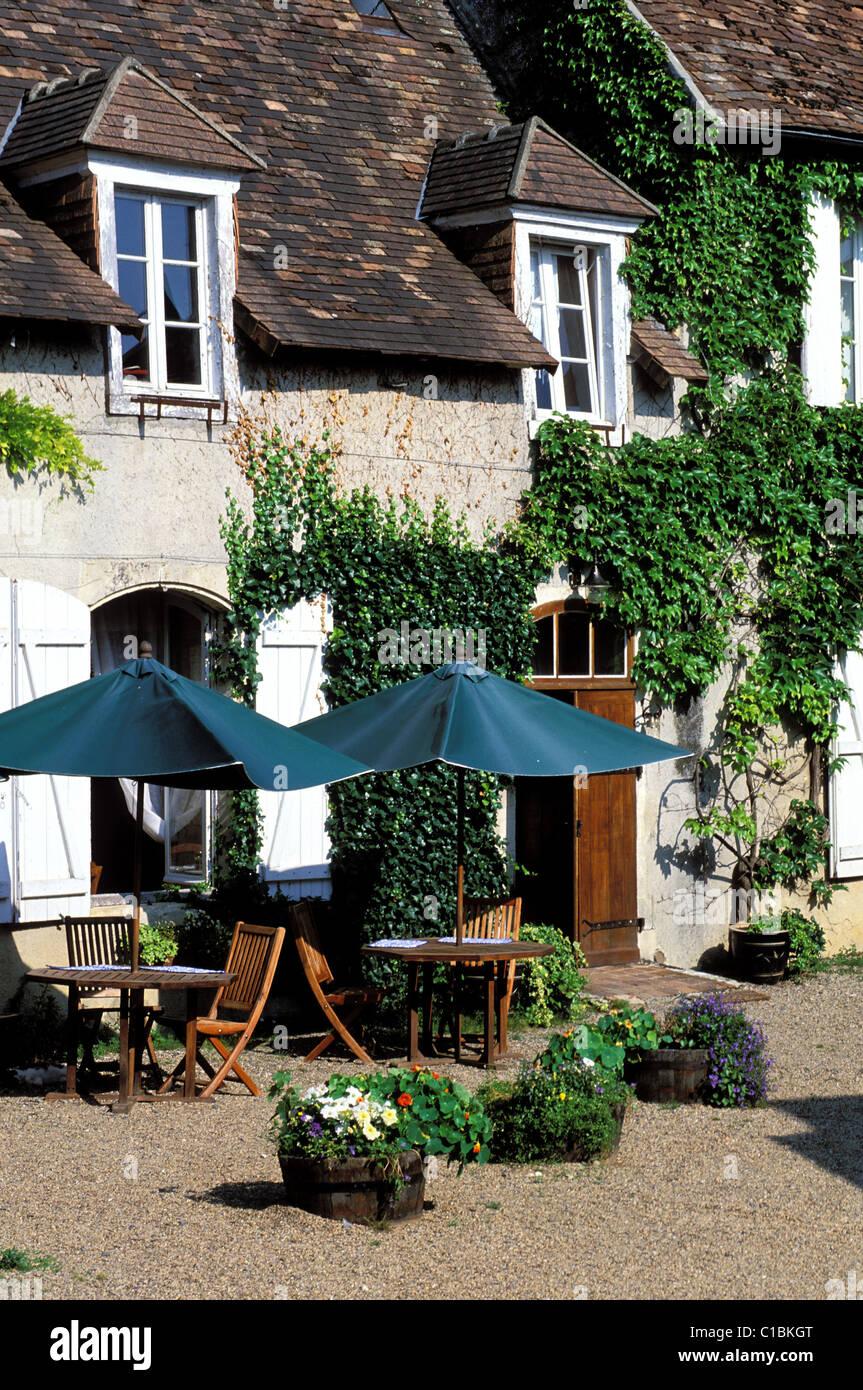 France Vienne Angles sur l' Anglin village labelled Les Plus Beaux Villages de France (The Most Beautiful Villages - Stock Image