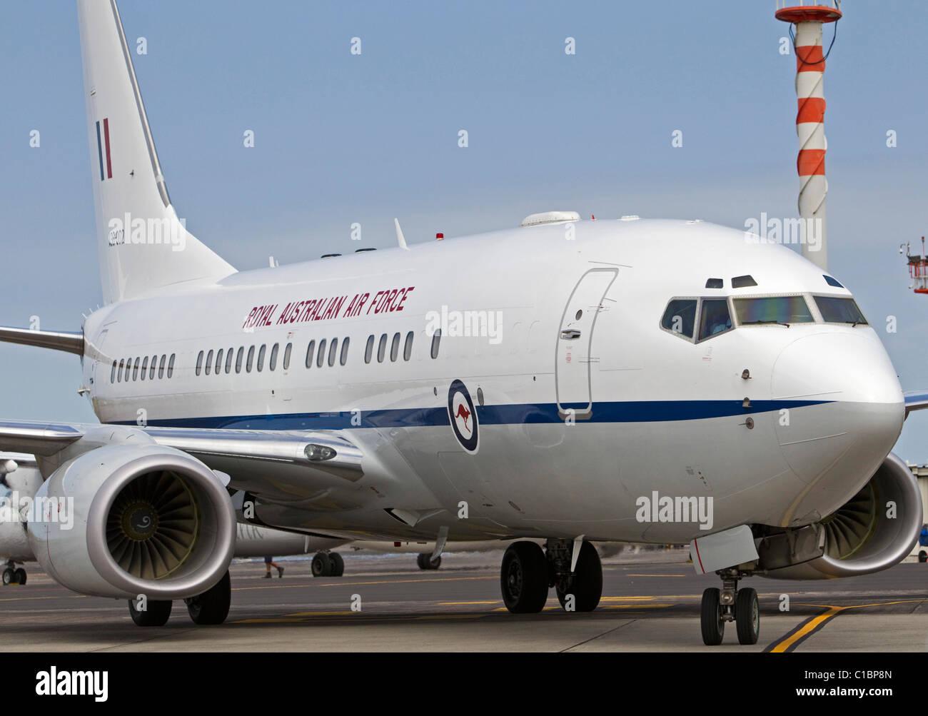 Royal Australian Air Force VIP Aircraft - 34 SQN - Boeing