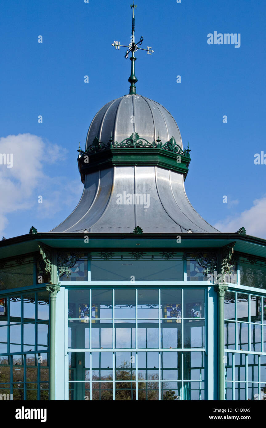 Victorian Bandstand close-up - Stock Image