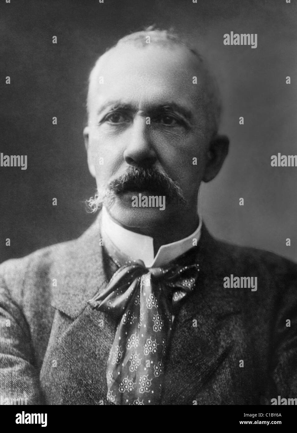 French physiologist Charles Richet (1850 - 1935) - winner of the Nobel Prize in Physiology or Medicine in 1913 for - Stock Image