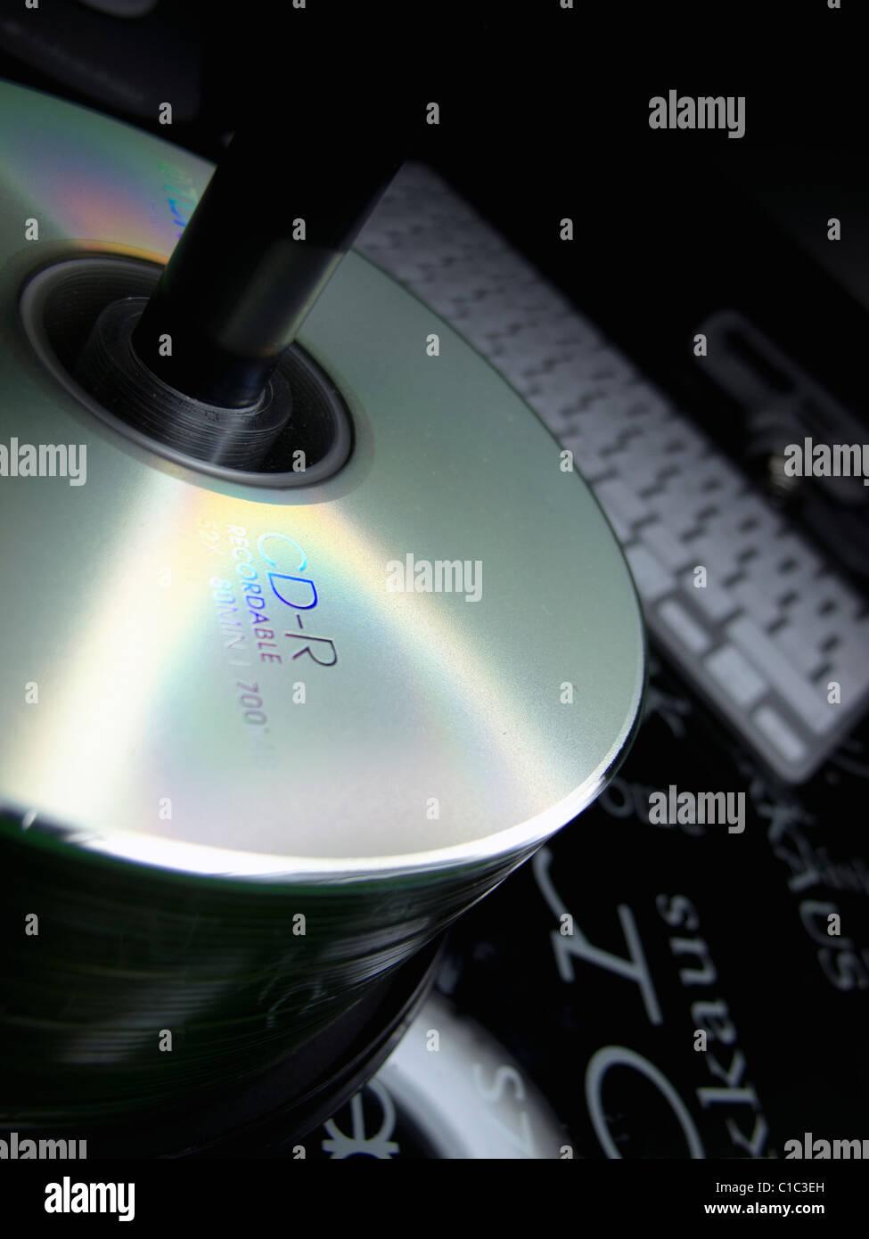 CD-R Disc - Stock Image